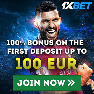 1xBet Welcome Bonus 100€