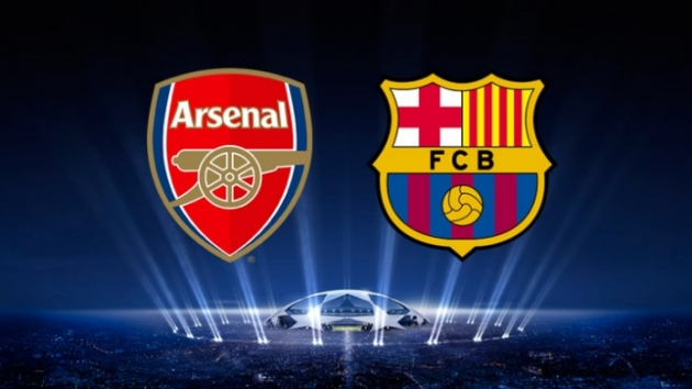 Arsenal vs Barcelona. Prediction on match 23.02.2016