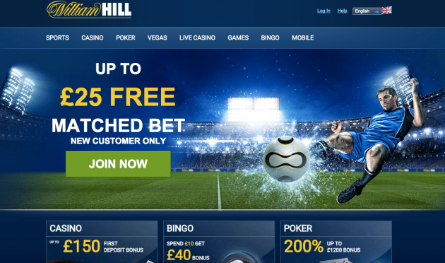 william hill bet