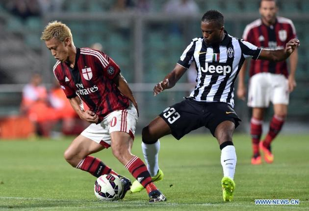 A.C. Milan vs Juventus. Bettips tips and prediction on match 09.04.2016