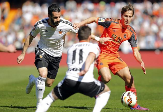 Valencia vs Real Sociedad. Prediction on match 13.05.2016