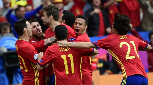 Spain vs Turkey. Prediction on match Euro-2016 (17.06.2016)