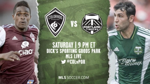 Colorado Rapids vs Portland Timbers. Match Preview 5 July, 2016
