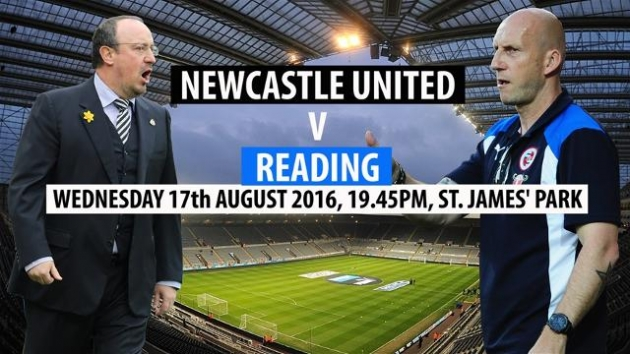 Newcastle United FC vs. Reading FC. Prediction and tip 17/08/2016