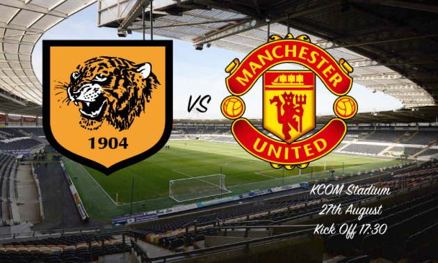 Hull City vs Manchester United. Prediction and tip 27/08/2016