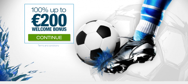 €200 Welcome Bonus from Winner