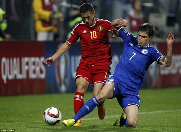 Belgium vs. Bosnia and Herzegovina: Prediction, Match Preview 07/10/2016