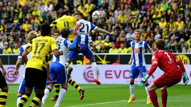 Resultado de imagem para Borussia Dortmund vs Hertha Berlin