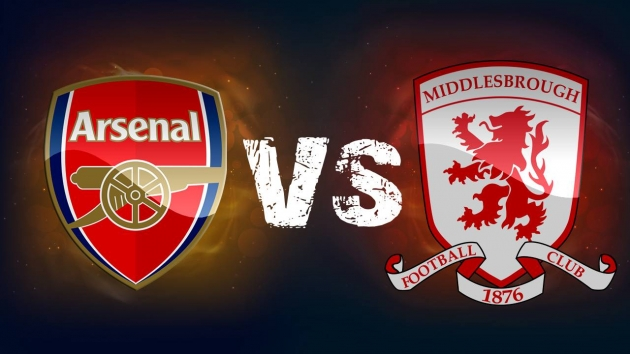 Arsenal vs. Middlesbrough Predictions & Match Preview 22/10/2016