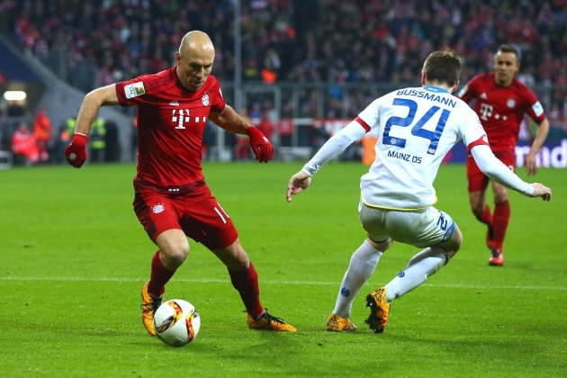 1. FSV Mainz 05 vs. Bayern Munich: 02/12/2016 Predictions