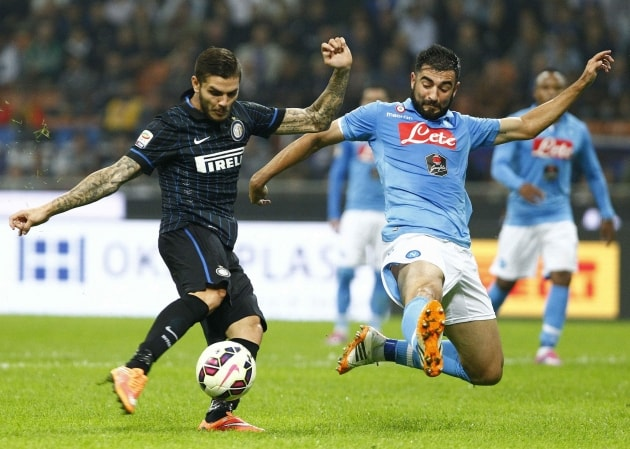Napoli vs. Inter Milan: 02/12/2016 Predictions, Match Preview