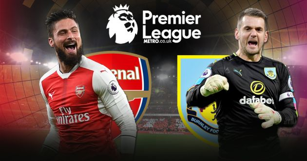 Arsenal vs. Burnley Predictions & Match Preview 22/01/2017
