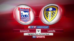 Ipswich vs	Leeds. Predictions & Tips 18/02/2017