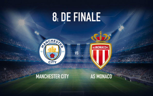 Manchester City vs. AS Monaco Predictions & Match Preview 21/02/2017