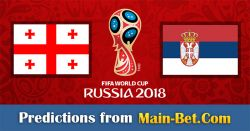 Georgia vs. Serbia Predictions & Betting Tips 24/03/2017