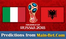 Italy vs. Albania Predictions & Match Preview 24/03/2017