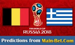 Belgium vs. Greece Predictions & Betting Tips 25/03/2017