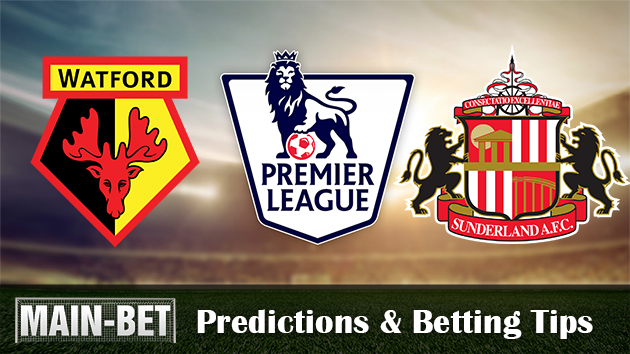 Watford vs. Sunderland Predictions & Match Preview 01/04/2017