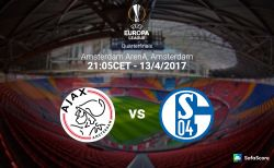 Ajax vs Schalke 04 Predictions & Betting tips 13/04/2017