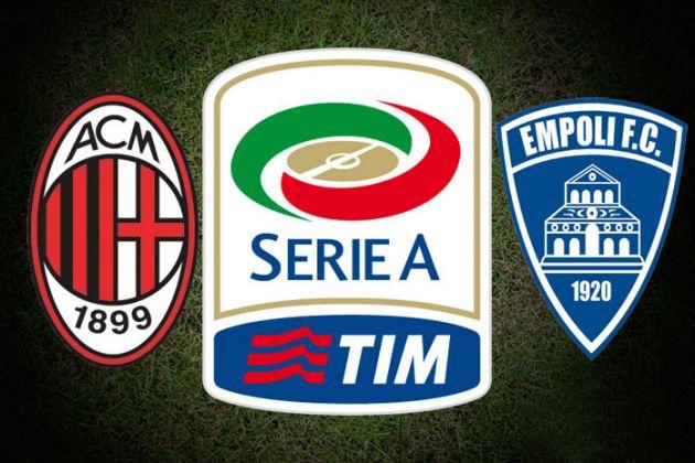 Resultado de imagen para AC Milan vs Empoli