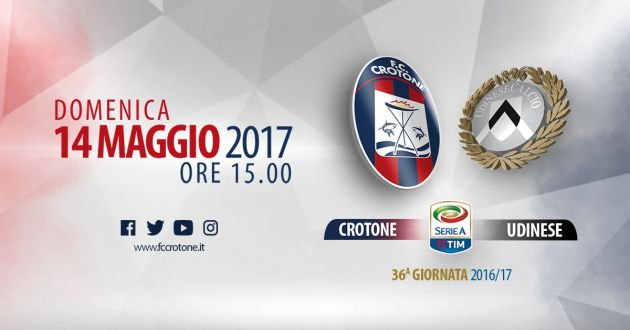 Crotone - Udinese Predictions & Match Preview 14/05/2017