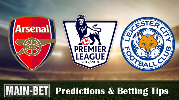 Arsenal vs Leicester City Match Predictions & Betting Tips 11/08/2017