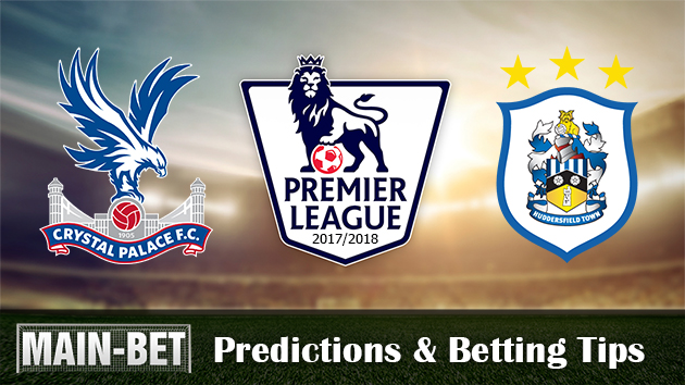 Crystal Palace vs Huddersfield Town Match Predictions & Betting Tips 12/08/2017