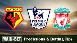 Watford vs Liverpool Match Predictions & Match Preview 12/08/2017