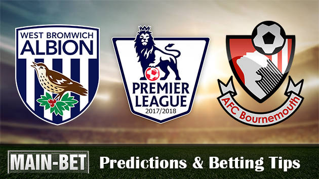 West Bromwich Albion vs Bournemouth Match Predictions & Betting Tips 12/08/2017