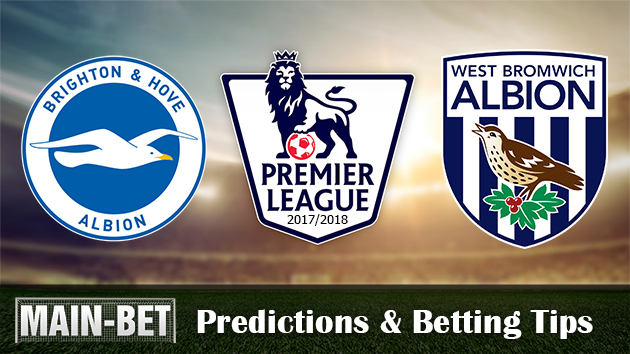 Brighton & Hove Albion vs West Bromwich Albion Match Predictions 09/09/2017