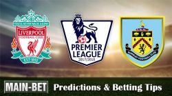 Liverpool vs Burnley Predictions 16/09/2017