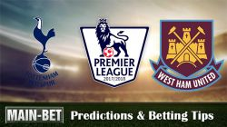 West Ham United vs Tottenham Hotspur Predictions 23/09/2017