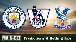 Manchester City vs Crystal Palace Predictions 23/09/2017