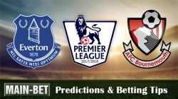 Everton vs Bournemouth Predictions 23/09/2017