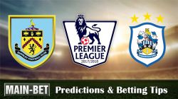 Burnley vs Huddersfield Town Predictions 23/09/2017