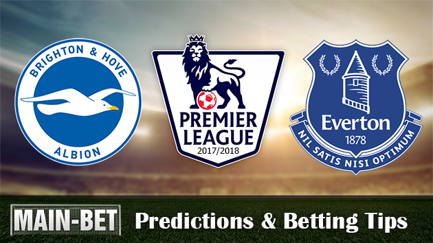 Brighton & Hove Albion vs Everton Predictions and Match Preview 15/10/2017