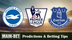 Brighton & Hove Albion vs Everton Predictions and Betting Tips 15/10/2017