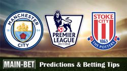 Manchester City vs Stoke City Predictions & Betting Tips 14/10/2017