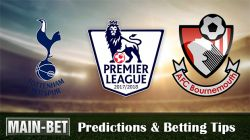Tottenham Hotspur vs Bournemouth Predictions & Betting Tips 14/10/2017
