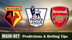 Watford vs Arsenal Predictions & Betting Tips 14/10/2017
