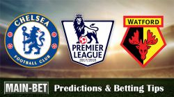 Chelsea vs Watford Betting Predictions, 21 Oct 2017