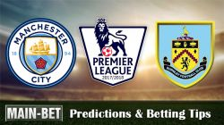 Man City vs Burnley Betting Predictions, 21 Oct 2017