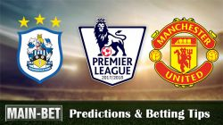 Huddersfield vs Man United Betting Predictions, 21 Oct 2017
