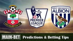 Southampton vs West Brom Predictions, 21 Oct 2017