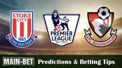 Stoke City vs Bournemouth Betting Predictions, 21 Oct 2017