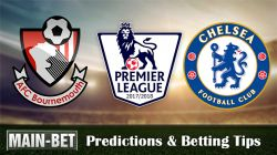 Bournemouth vs Chelsea Predictions, 28 Oct 2017