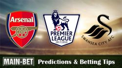 Arsenal vs Swansea City Betting Predictions, 28 Oct 2017