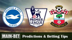 Brighton vs Southampton Predictions, 29 Oct 2017