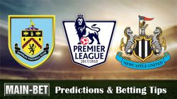 Burnley vs Newcastle United Predictions, 30 Oct 2017