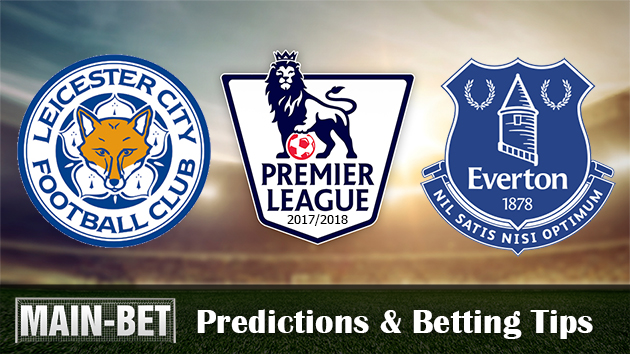 Leicester City vs Everton Predictions, 29 Oct 2017
